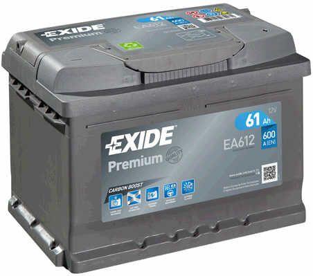 Baterie Exide 12V 61Ah EA612, EXIDE