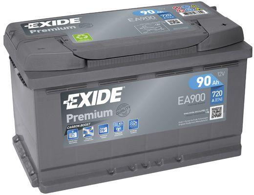 Baterie Exide 12V 90Ah EA900, EXIDE