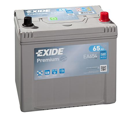 Baterie Exide 12V 65Ah EA654, EXIDE