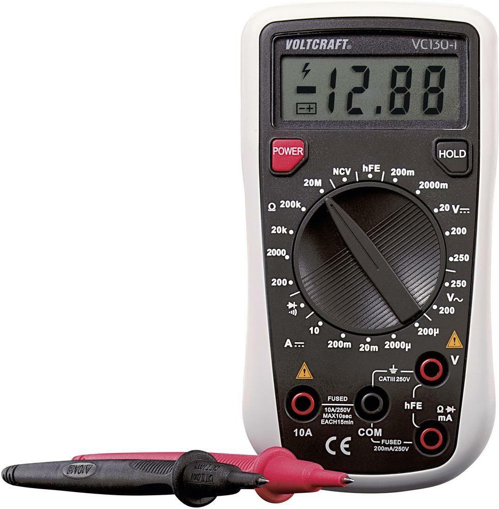 Digitální multimetr VC130-1 VOLTCRAFT