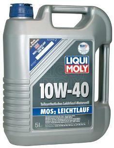 Motorový olej Liqui Moly MoS2 Leichtlauf 10W40 5L