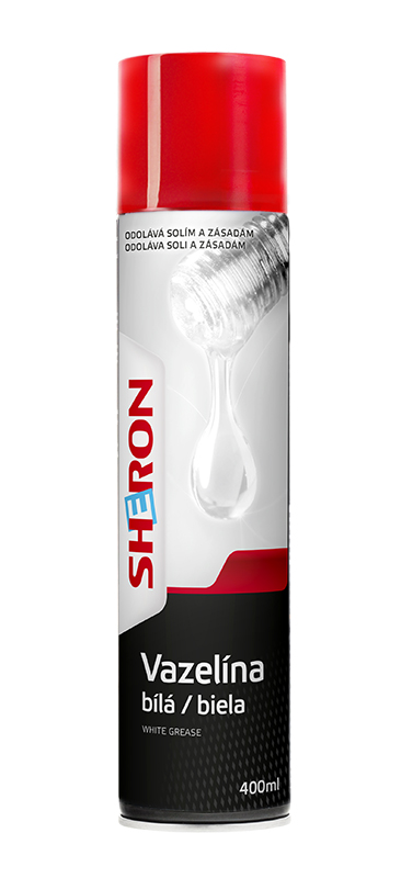 Bílá vazelína 400 ml SHERON