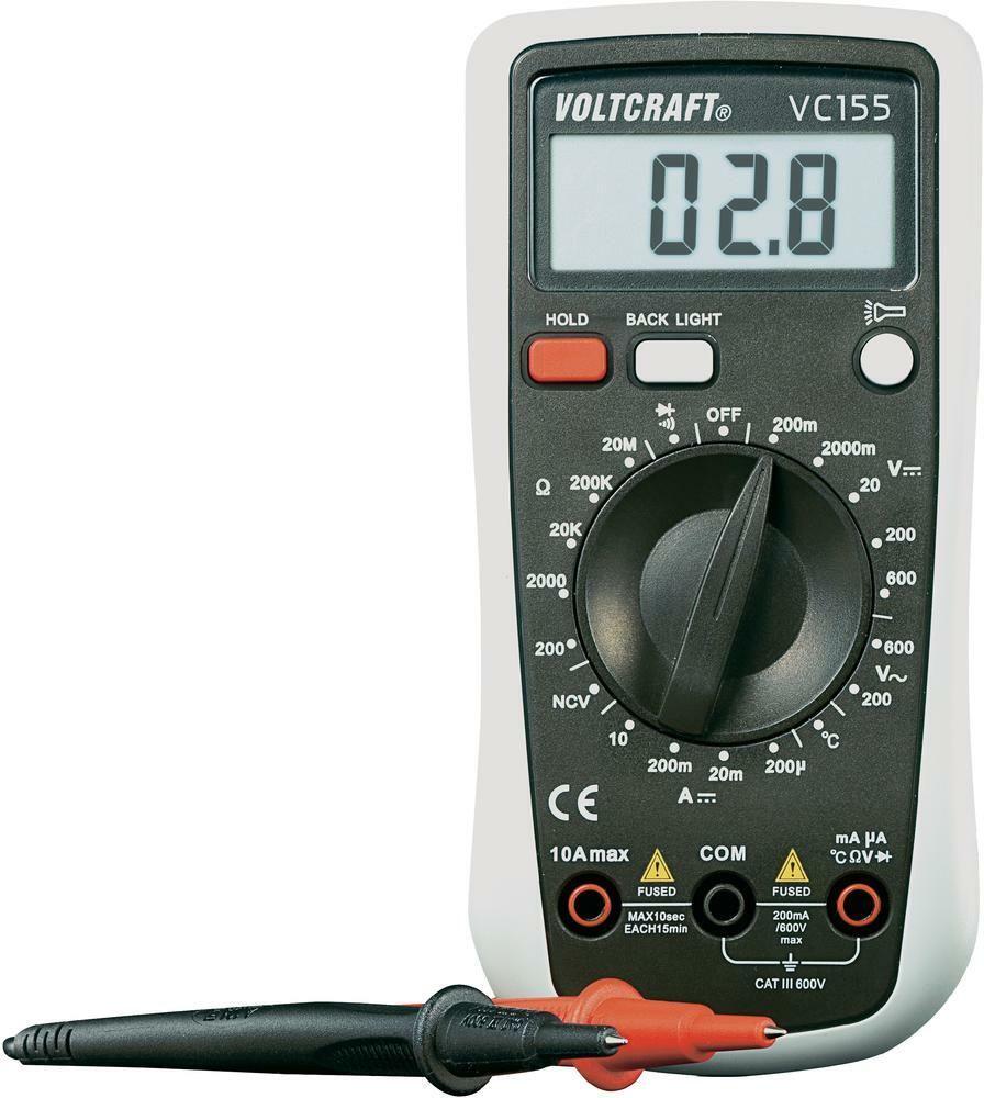 Digitální multimetr VC-155 VOLTCRAFT