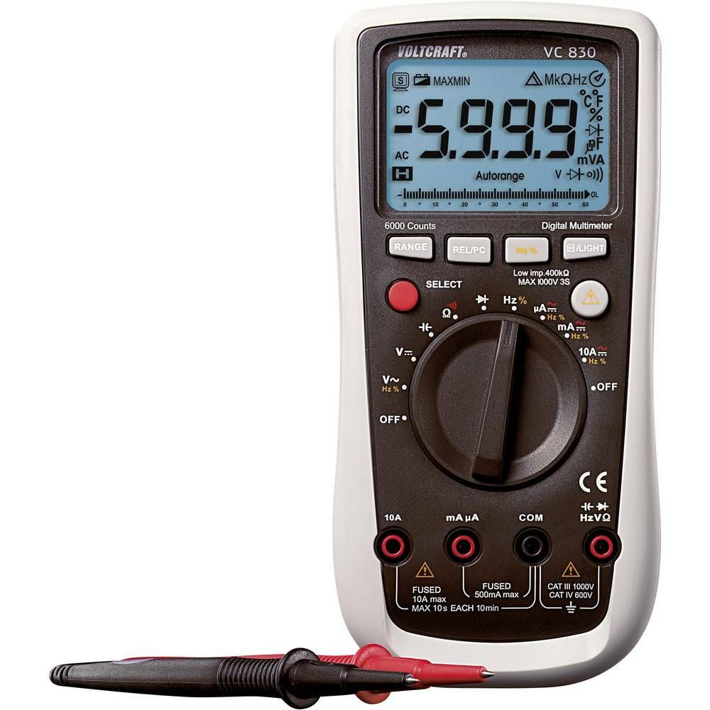 Digitální multimetr VC-830 VOLTCRAFT