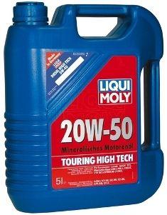 Motorový olej Liqui Moly Touring High Tech 20W50 5L LIQUI-MOLY