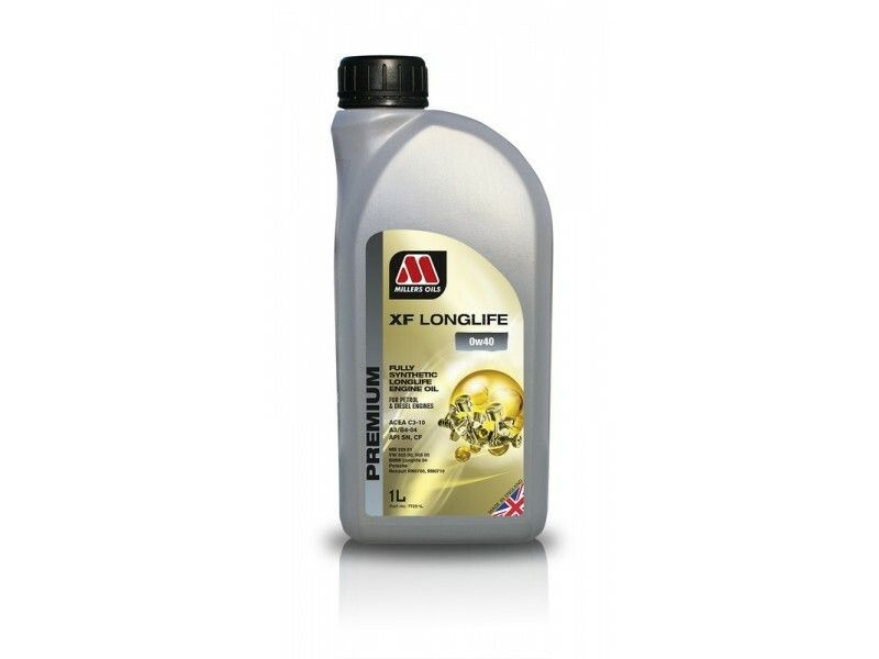 Millers Premium XF Longlife 0w40 1l MILLER OILS