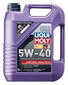 Motorový olej Liqui Moly Synthoil High Tech 5W40 5L