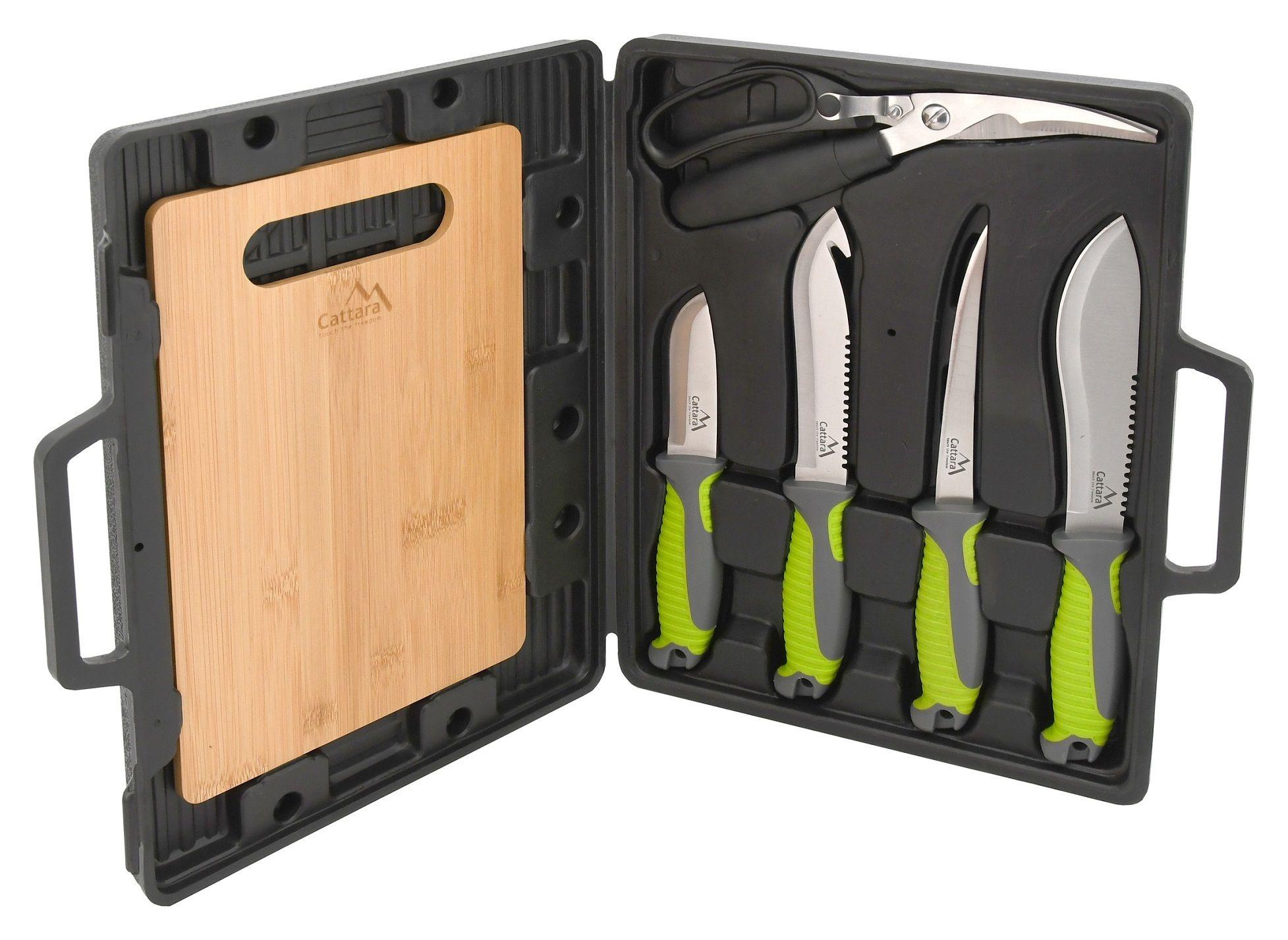 Grilovací nože sada 4+1+1 CATTARA