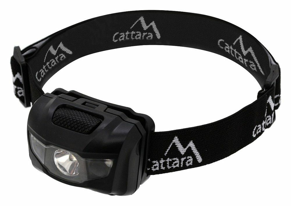 Čelovka LED 80lm černá, CATTARA