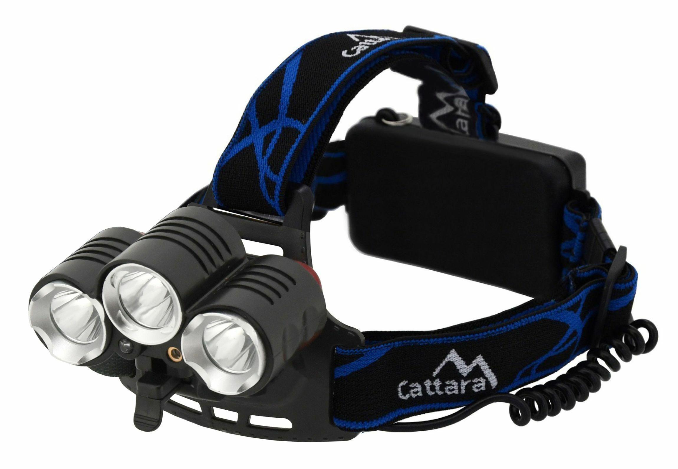 Čelovka LED 400lm (1x XM-L+2x XP-E) CATTARA