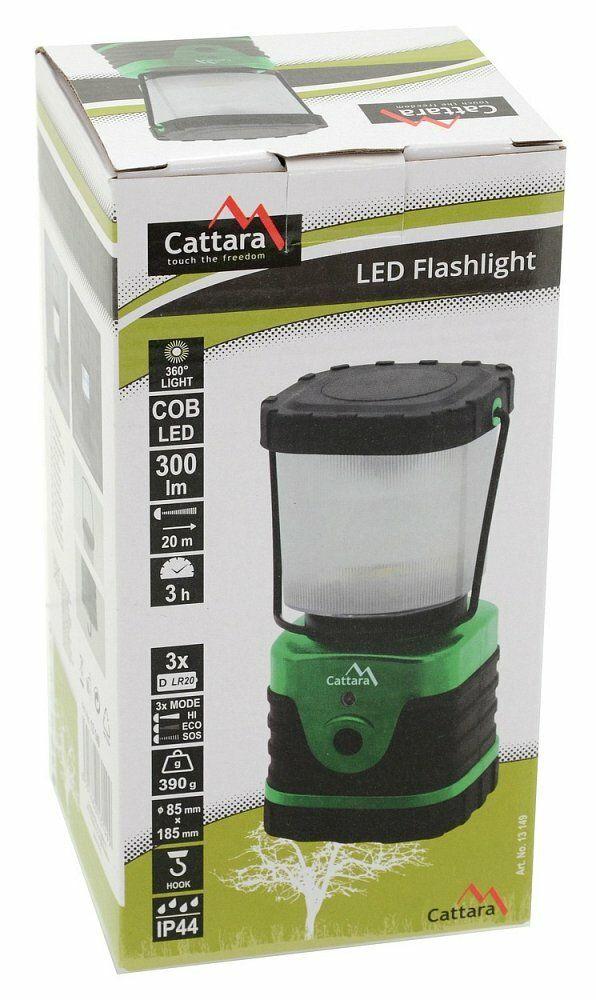Svítilna LED 300lm CAMPING CATTARA