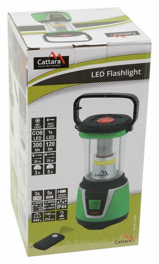 Svítilna LED 300lm CAMPING REMOTE CONTROL CATTARA