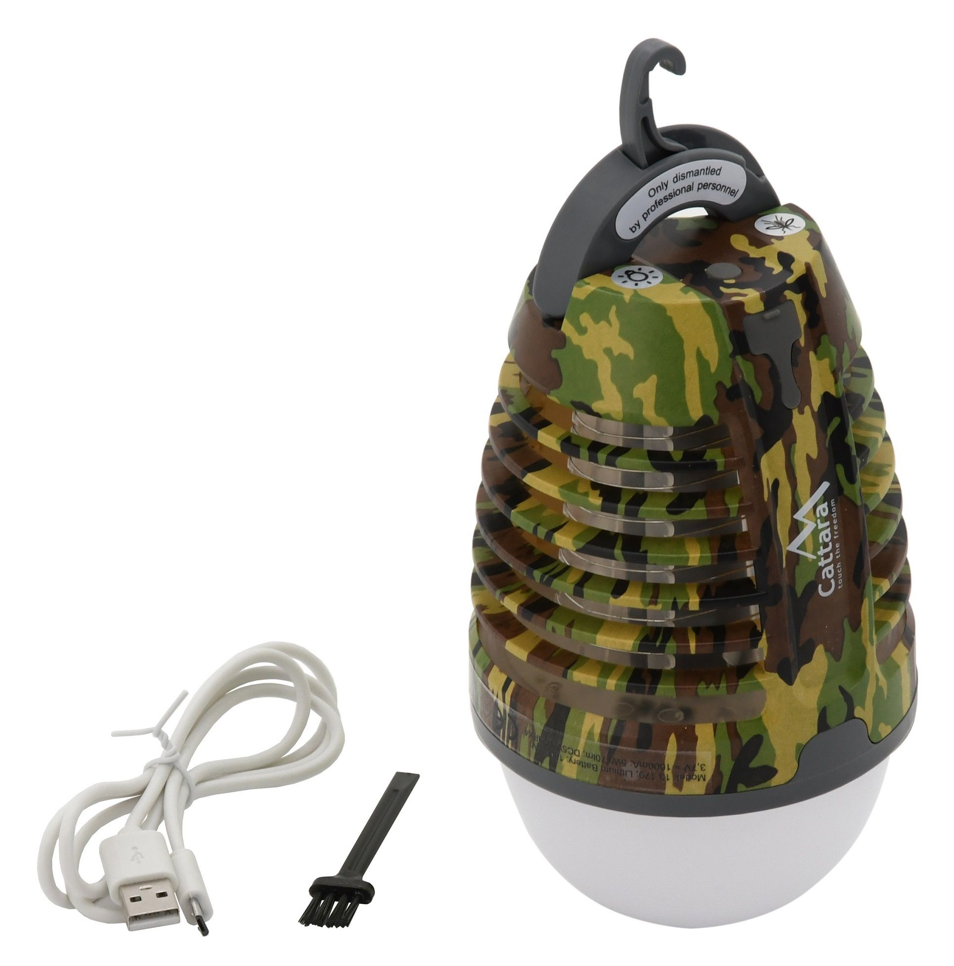 Svítilna PEAR ARMY nabíjecí + lapač hmyzu CATTARA