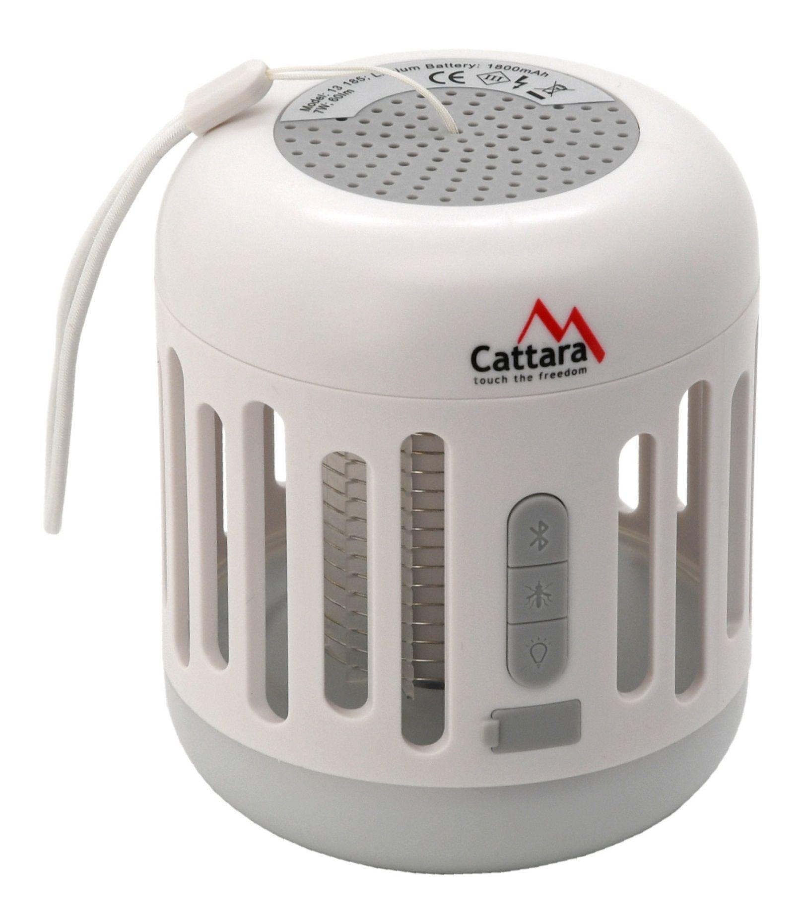 Svítilna MUSIC CAGE Bluetooth nabíjecí + UV lapač hmyzu CATTARA