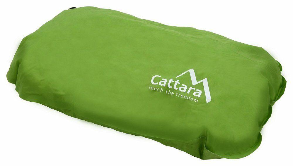 Polštář samonafukovací 50x30x13cm zelený CATTARA