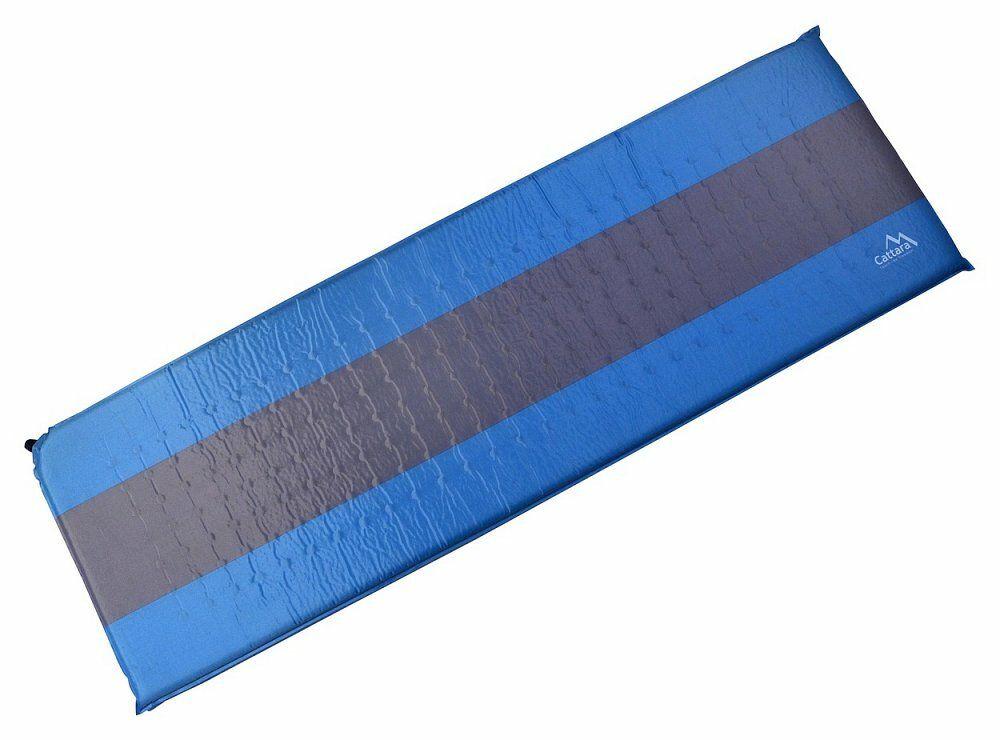 Karimatka samonafukovací 195x60x5cm modro-šedá CATTARA