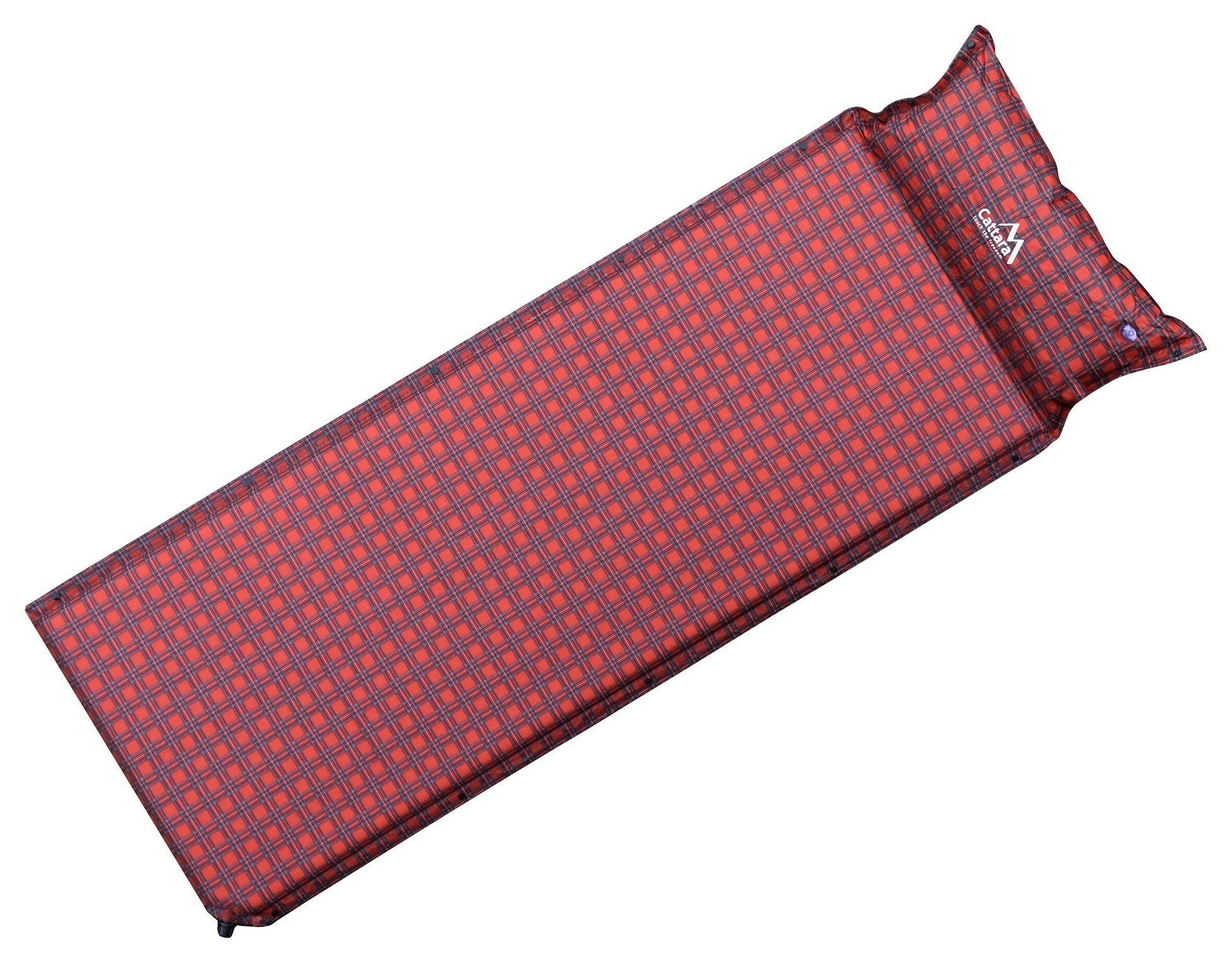 Karimatka samonafukovací 190x60x3,8cm s polštářem KILT CATTARA