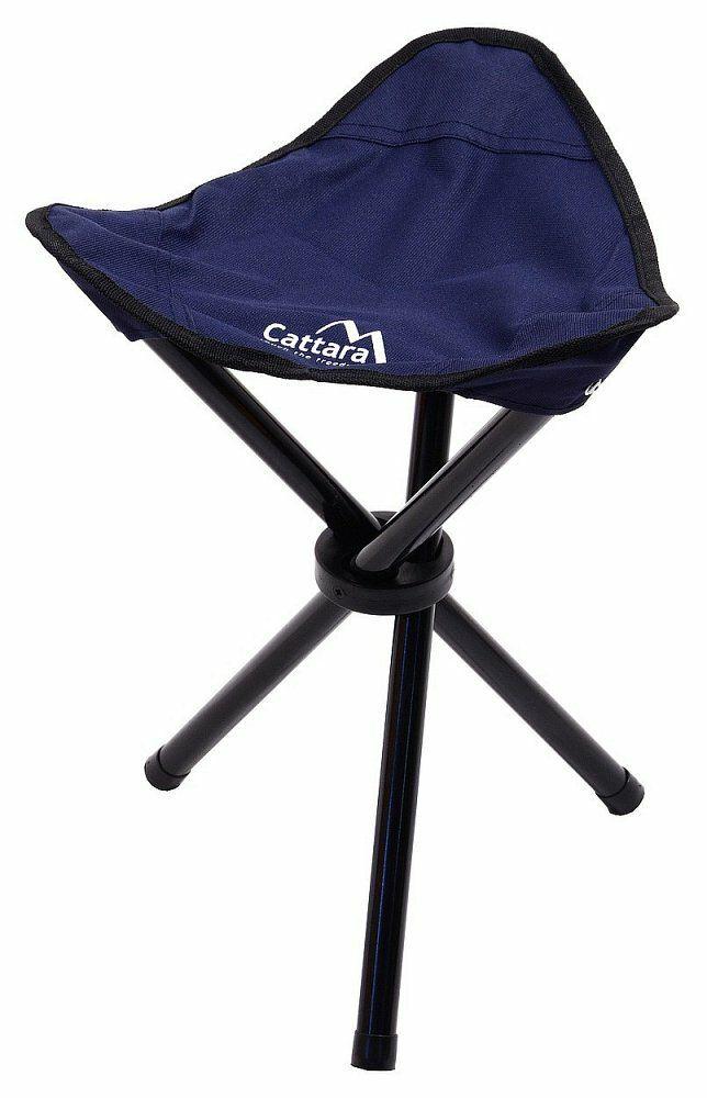 Židle kempingová skládací OSLO modrá CATTARA
