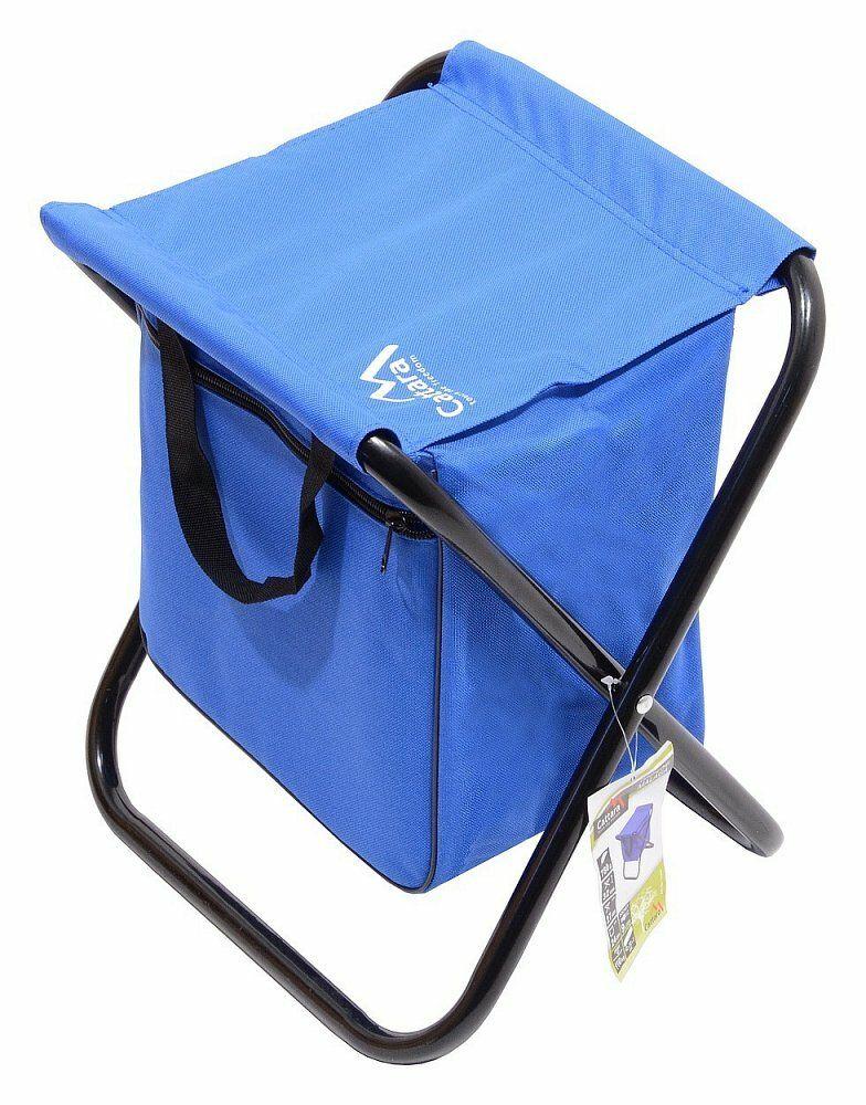 Židle kempingová skládací MALAGA modrá CATTARA