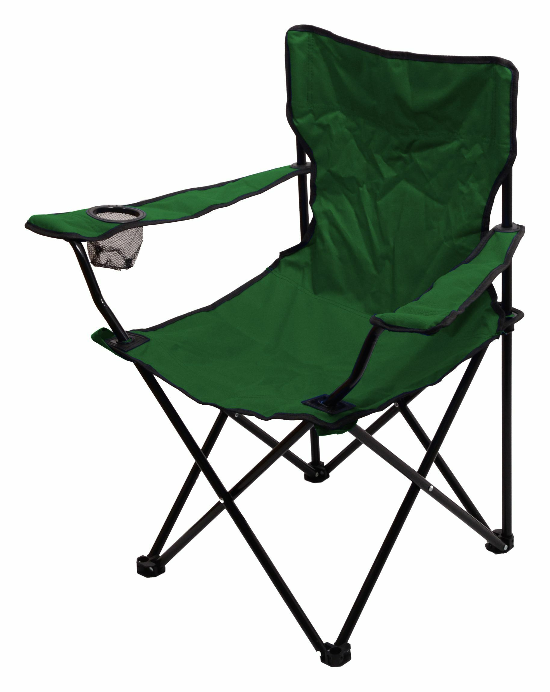Židle kempingová skládací BARI zelená CATTARA