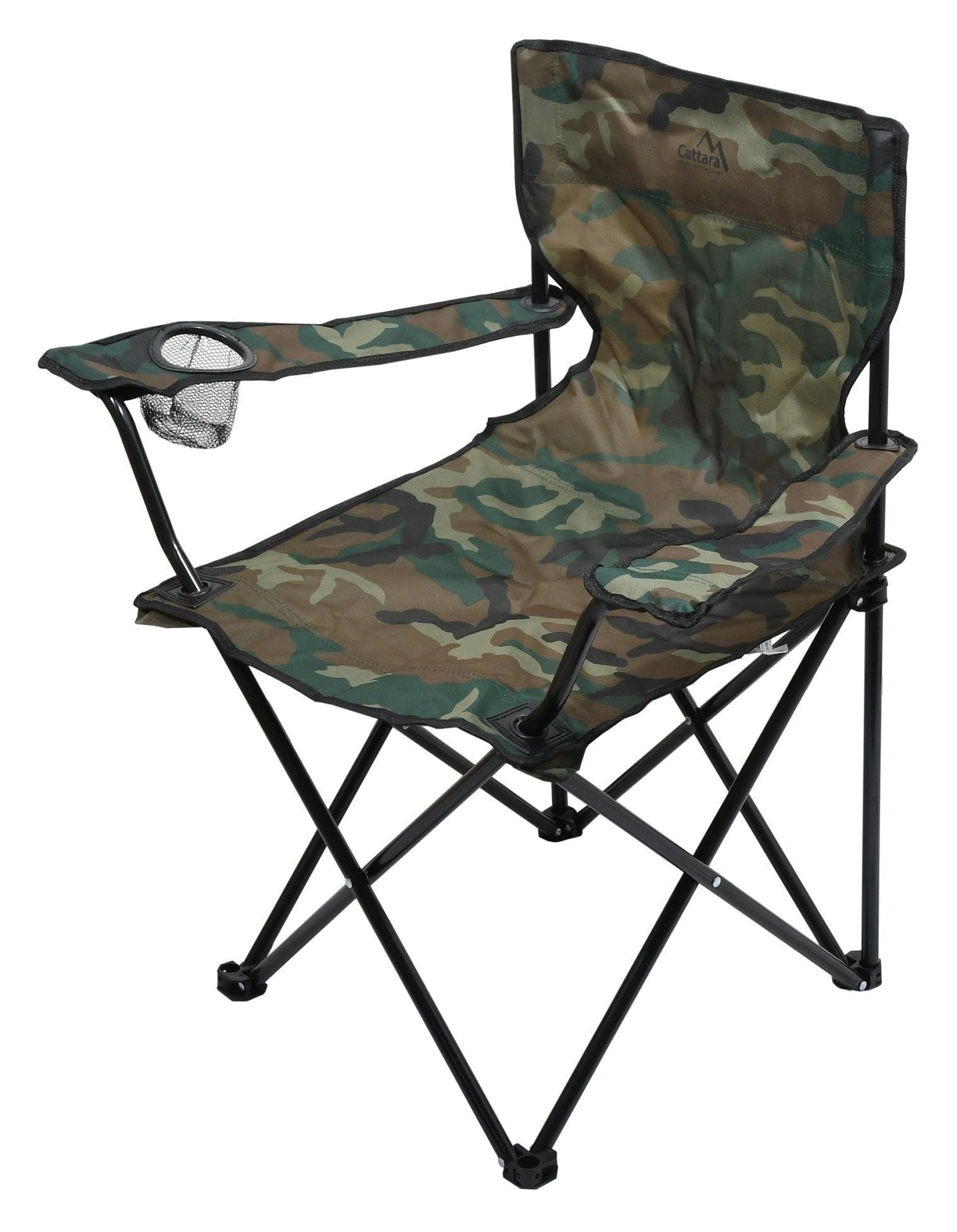 Židle kempingová skládací BARI ARMY CATTARA