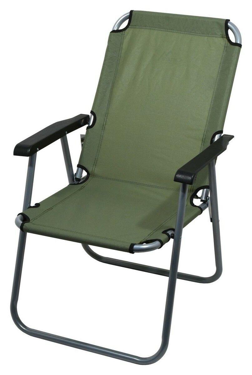 Židle kempingová skládací LYON tmavě zelená CATTARA