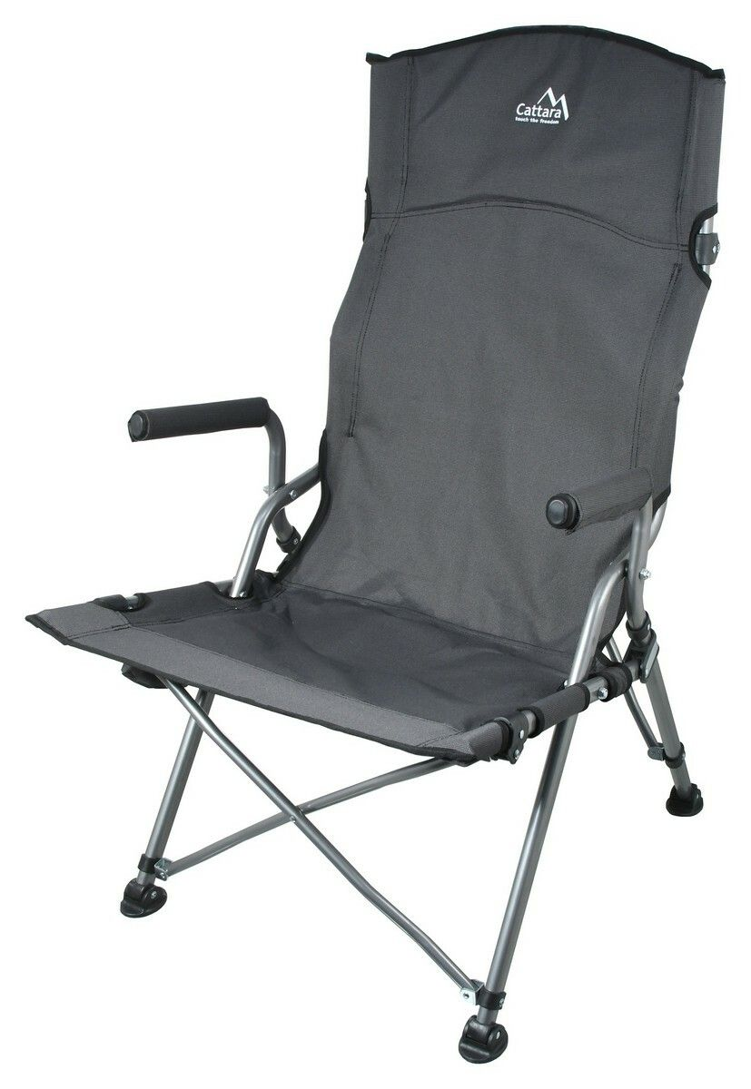 Židle kempingová skládací MERIT XXL 111cm CATTARA