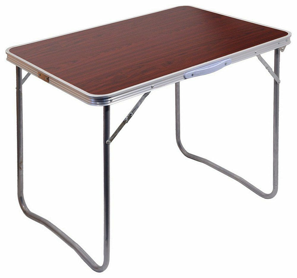 Stůl kempingový skládací BALATON hnědý CATTARA