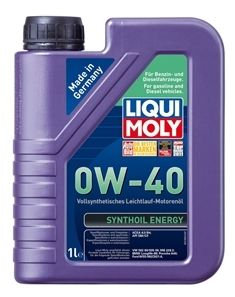 Motorový olej Liqui Moly Synthoil Energy 0W40 1L LIQUI-MOLY