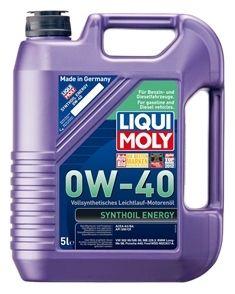 Motorový olej Liqui Moly Synthoil Energy 0W40 5L