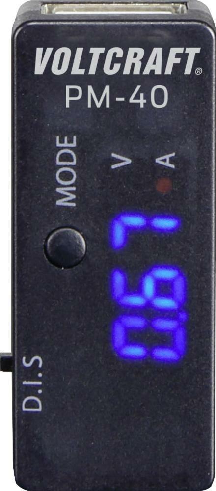 Digitální multimetr Voltcraft PM-40 USB