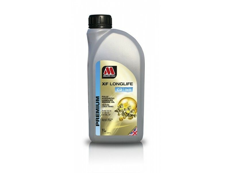 Millers Premium XF Longlife C2 5w30 1l MILLER OILS