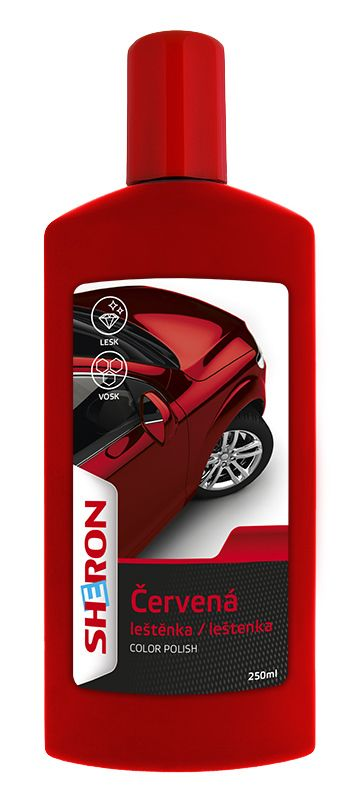 SHERON Leštěnka červená 250 ml