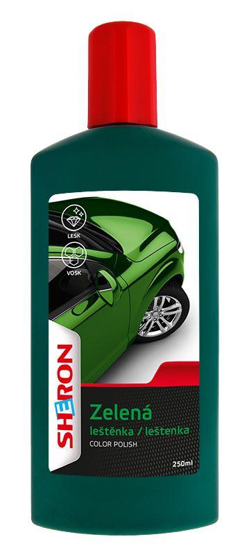 Leštěnka zelená 250 ml SHERON