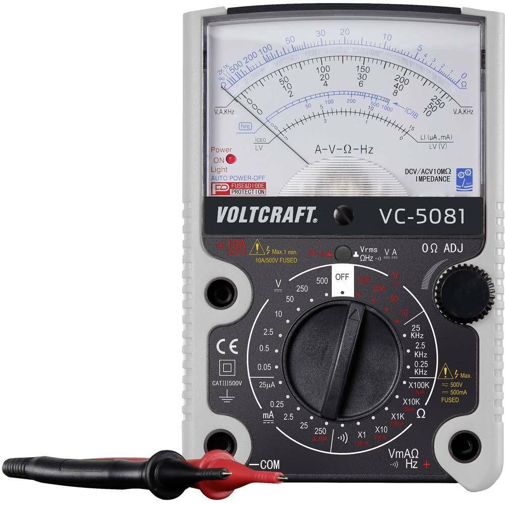 Analogový multimetr VC-5081, 3 roky záruka VOLTCRAFT