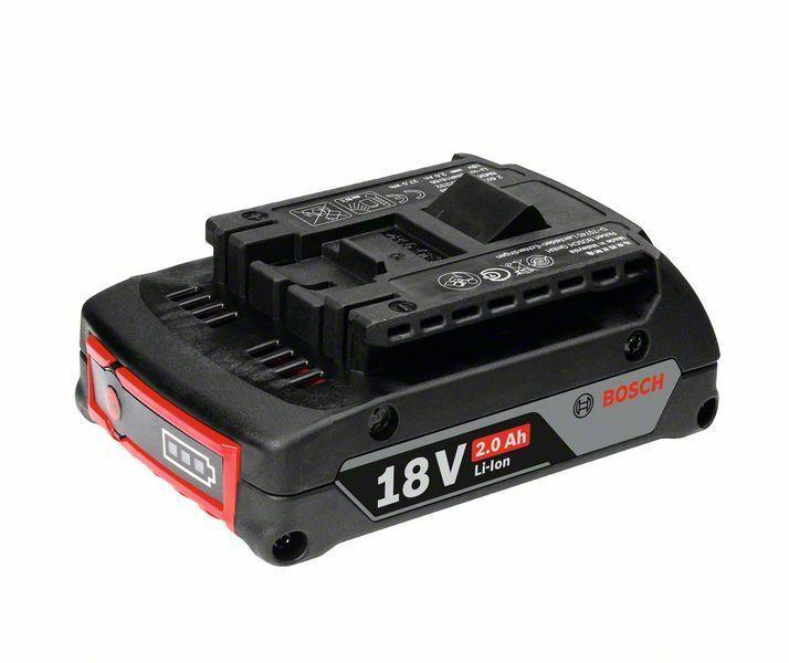 Zásuvný akumulátor GBA 18V 2,0Ah M-B; SD, 2,00 Ah, Li Ion - 3165140730440 BOSCH