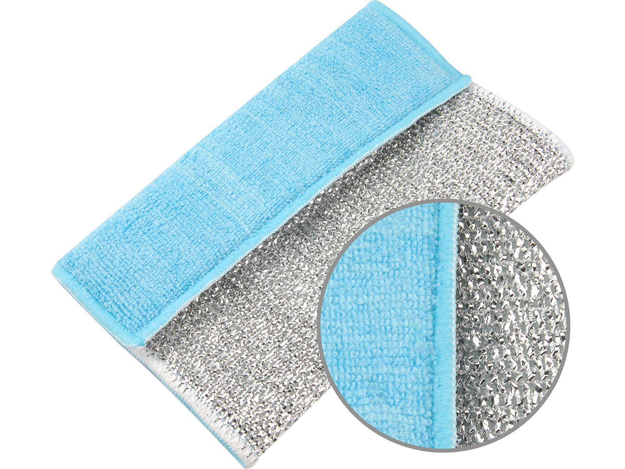 Utěrka čistící se zdrsněným povrchem, 17x23cm, mikrovlákno