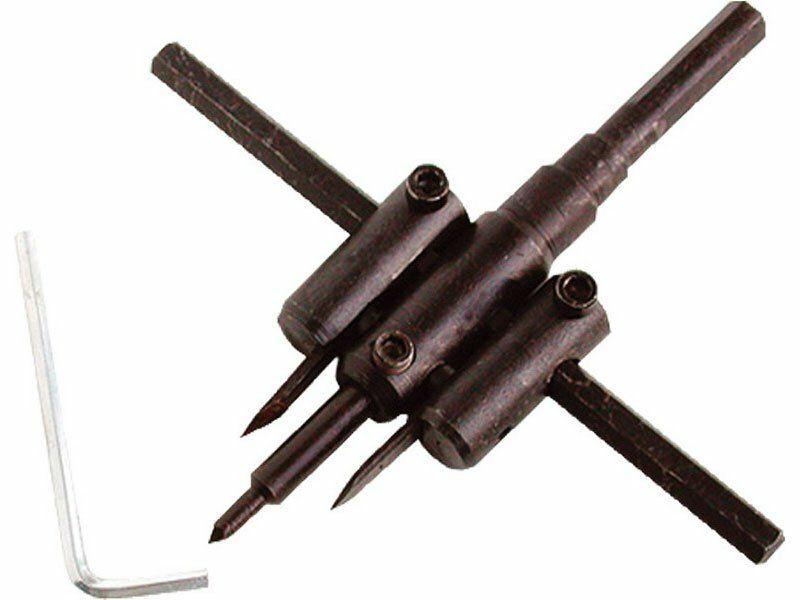 Vrták nastavitelný vykružovací do dřeva s 2břity, Ř30-120mm EXTOL-CRAFT