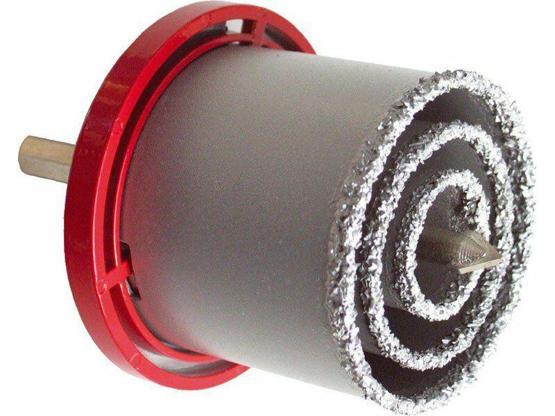 Vrtáky vykružovací s karbidovým ostřím, sada 3ks EXTOL-PREMIUM