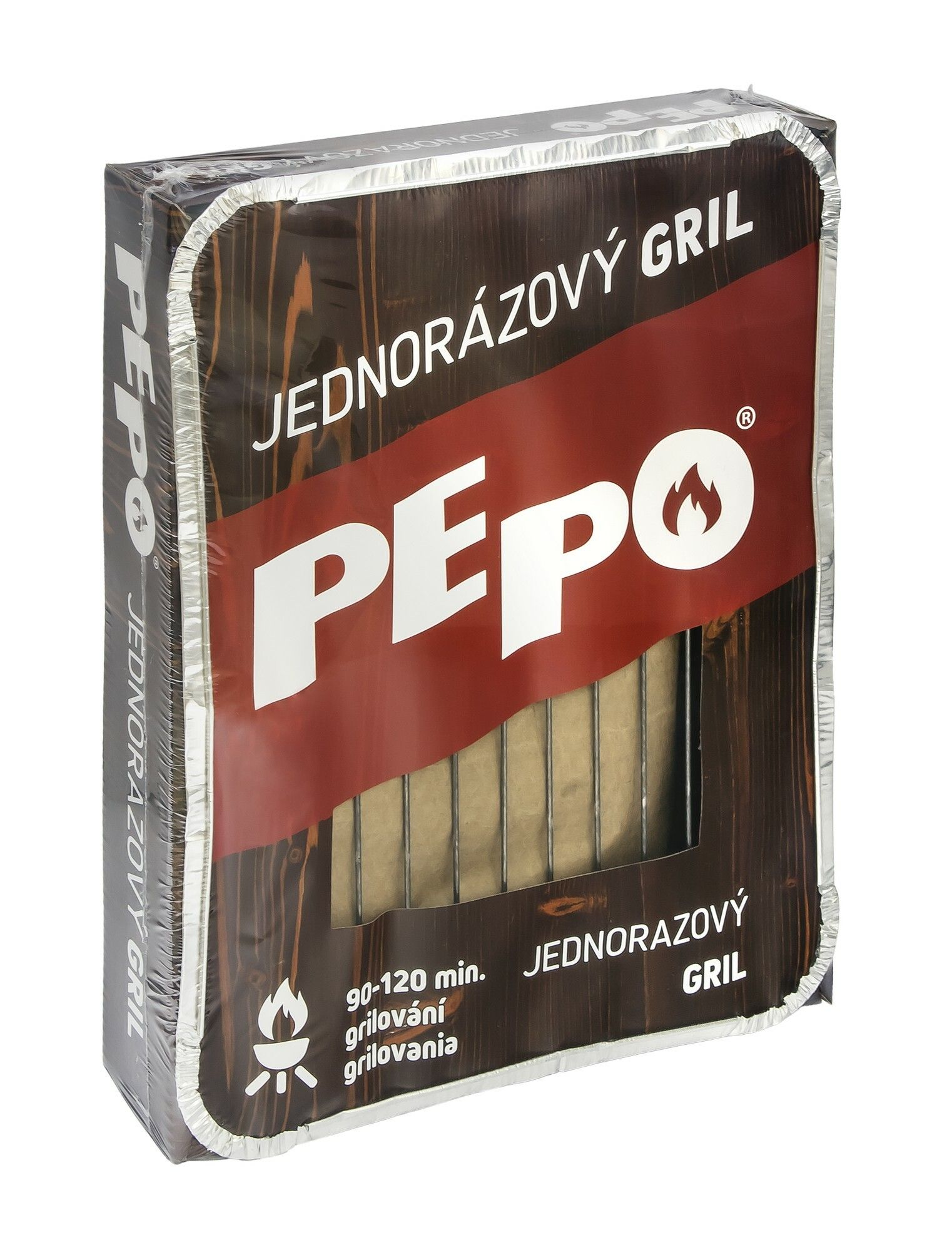 PE-PO jednorázový gril PEPO
