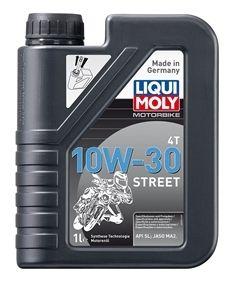 Motocyklový olej Liqui Moly Motorbike 4T 10W30 STREET 1L