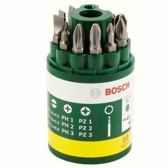 10dílná sada šroubovacích bitů Bosch