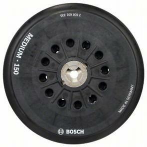 Brusný talíř, D150, střední - 3165140800990 BOSCH
