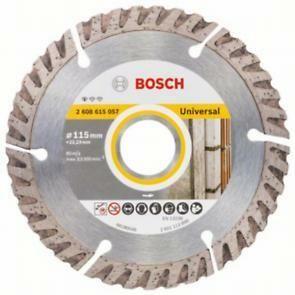 Diamantový dělicí kotouč Standard for Universal - 115 x 22,23 x 2 x 10 mm, BOSCH