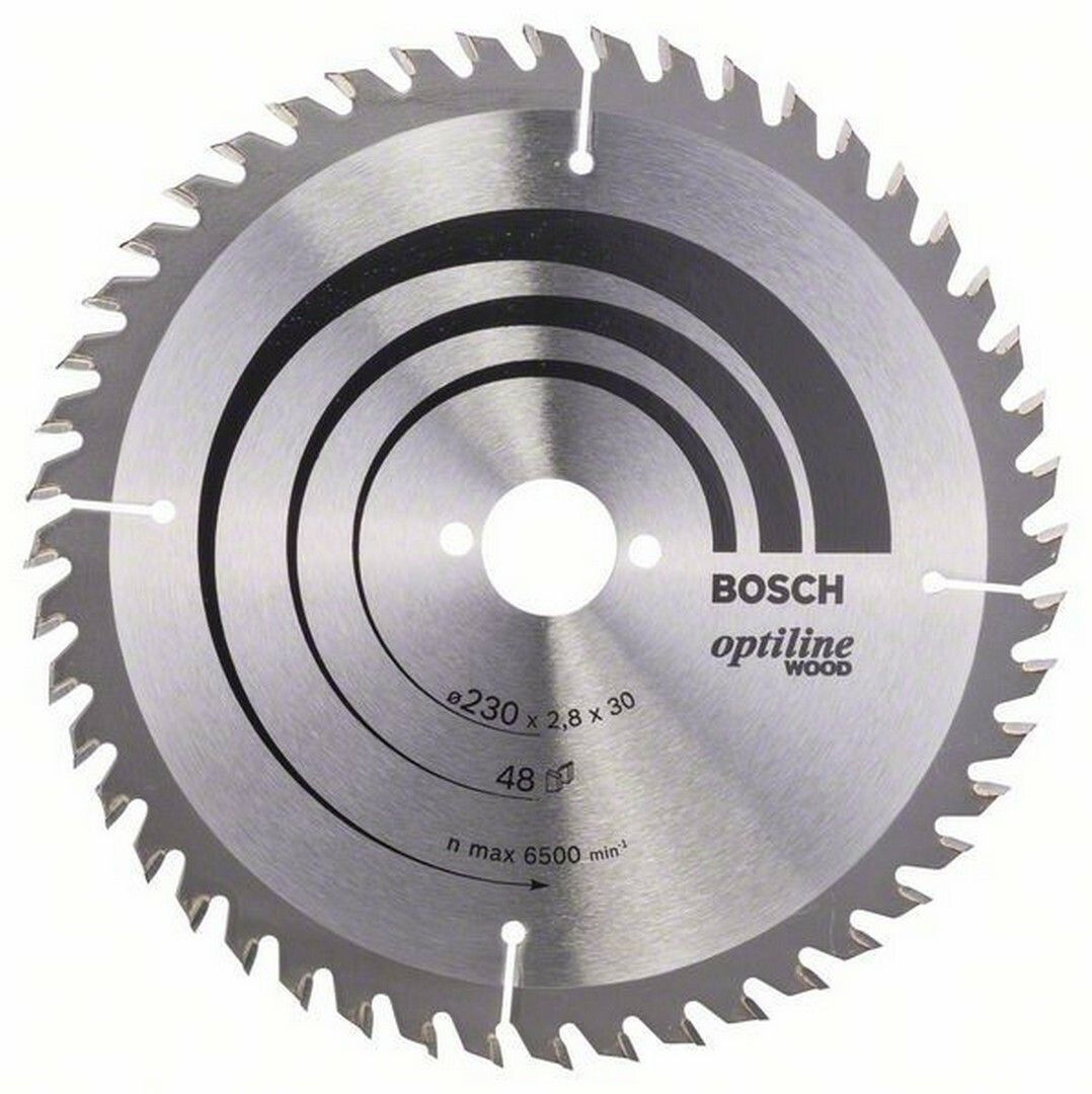 Pilový kotouč Optiline Wood - 230 x 30 x 2,8 mm, 48 - 3165140194228 BOSCH