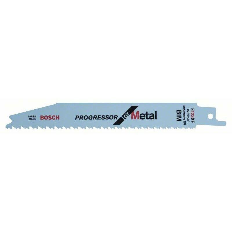 Pilový plátek do pily ocasky S 123 XF - Progressor for Metal - 3165140695404 BOSCH