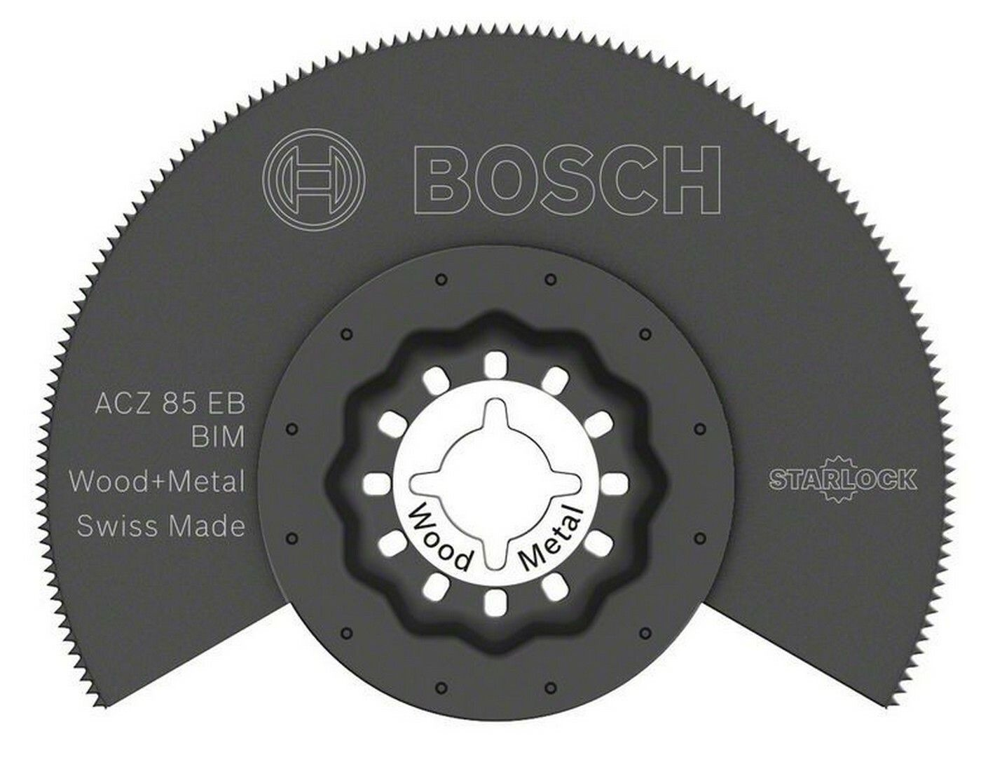 BIM segmentový pilový kotouč ACZ 85 EB Wood and Metal - 85 mm - 3165140492393 BOSCH