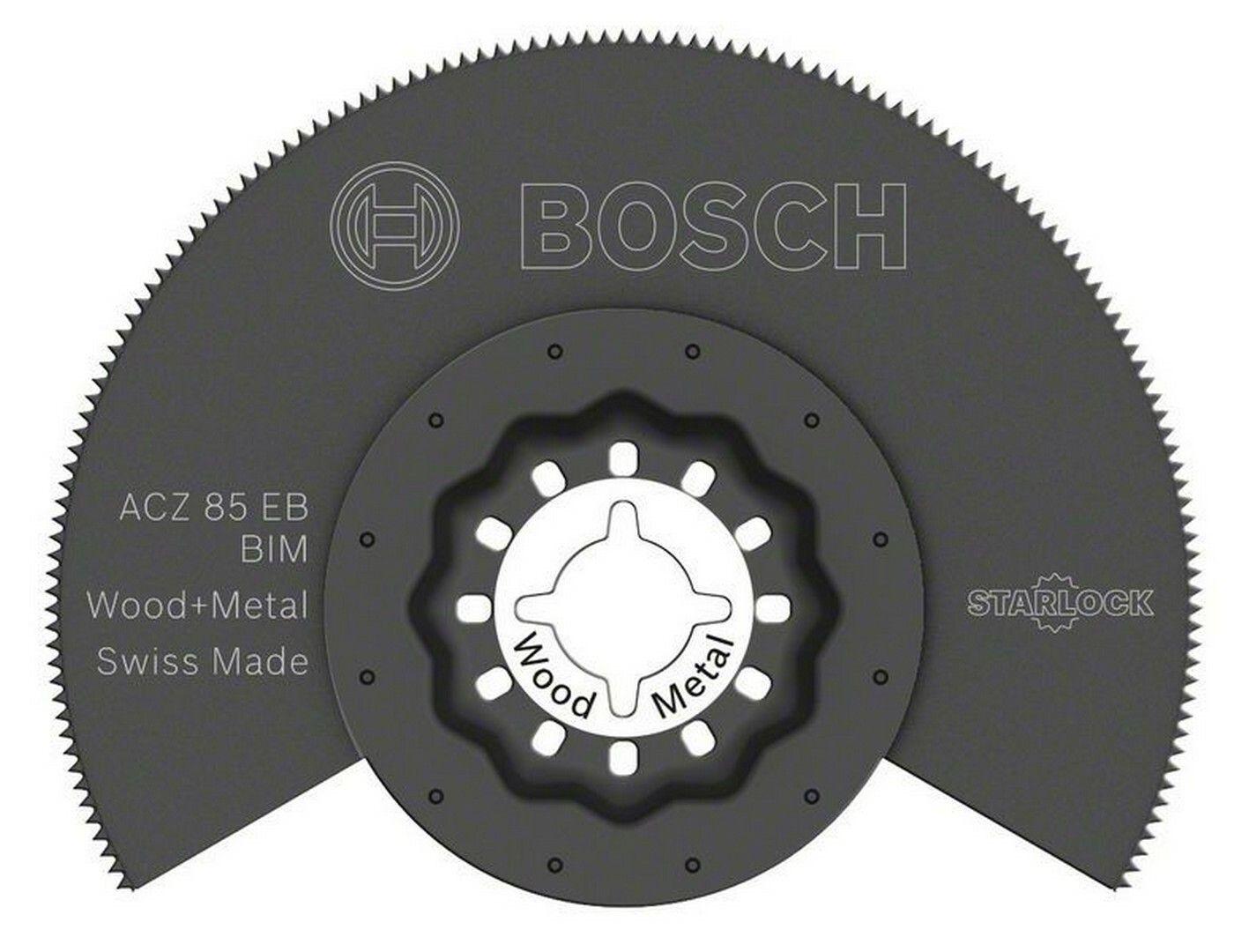 BIM segmentový pilový kotouč ACZ 85 EB Wood and Metal - 85 mm - 3165140492393 BOSCH