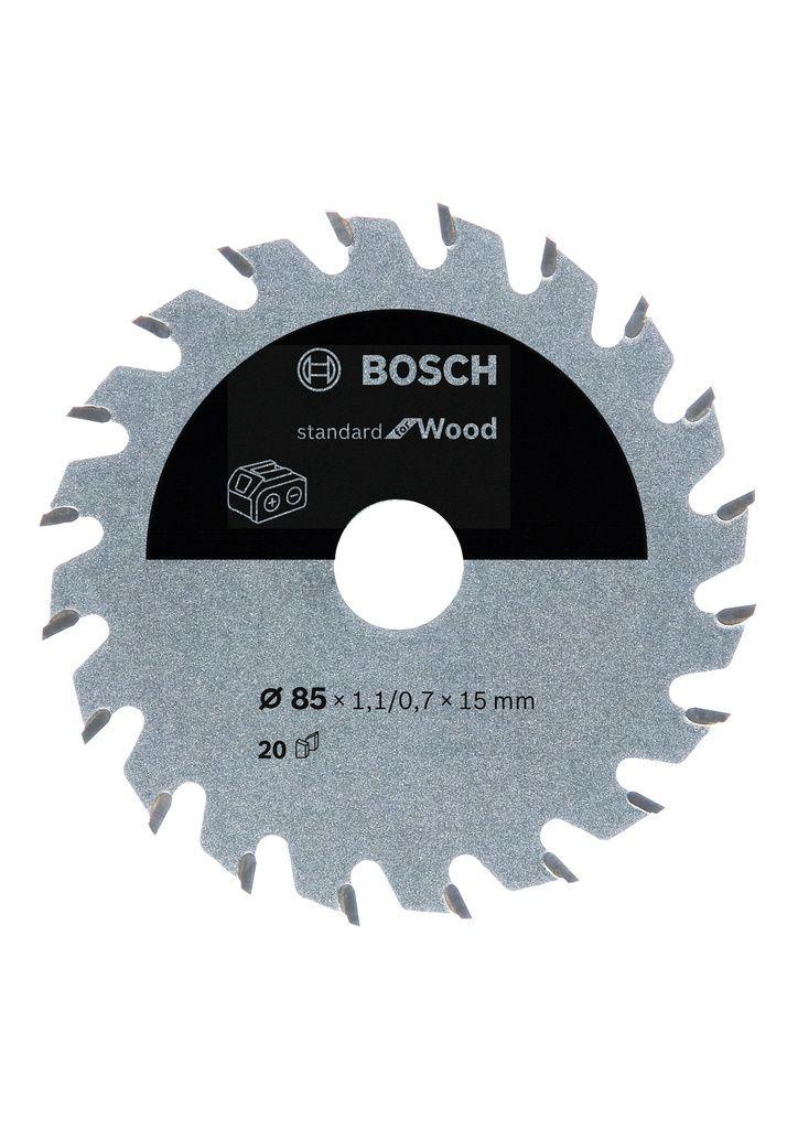 Pilový kotouč Standard for Wood pro aku pily - 85x15 T20 - 3165140958134 BOSCH