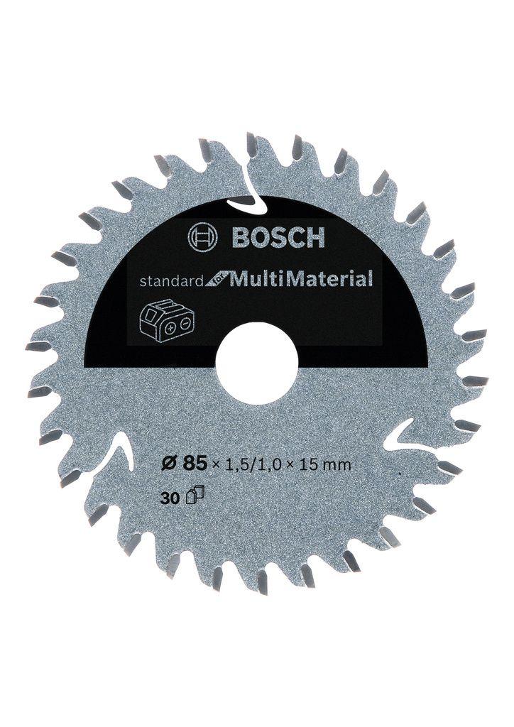 Pilový kotouč Standard for Multi Material pro akumulátorové pily 85×1,5/1×15 T30 BOSCH